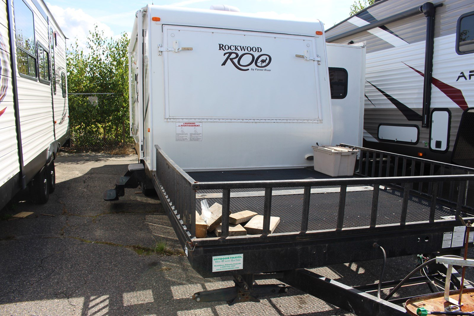 Pre-Owned 2012 ROCKWOOD ROO 21SSL